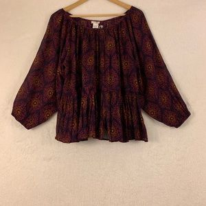 Natural Life Top One Size ( please measurements)